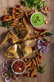 Pikantní kuře Piri piri
