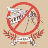 Malárie den plakát
