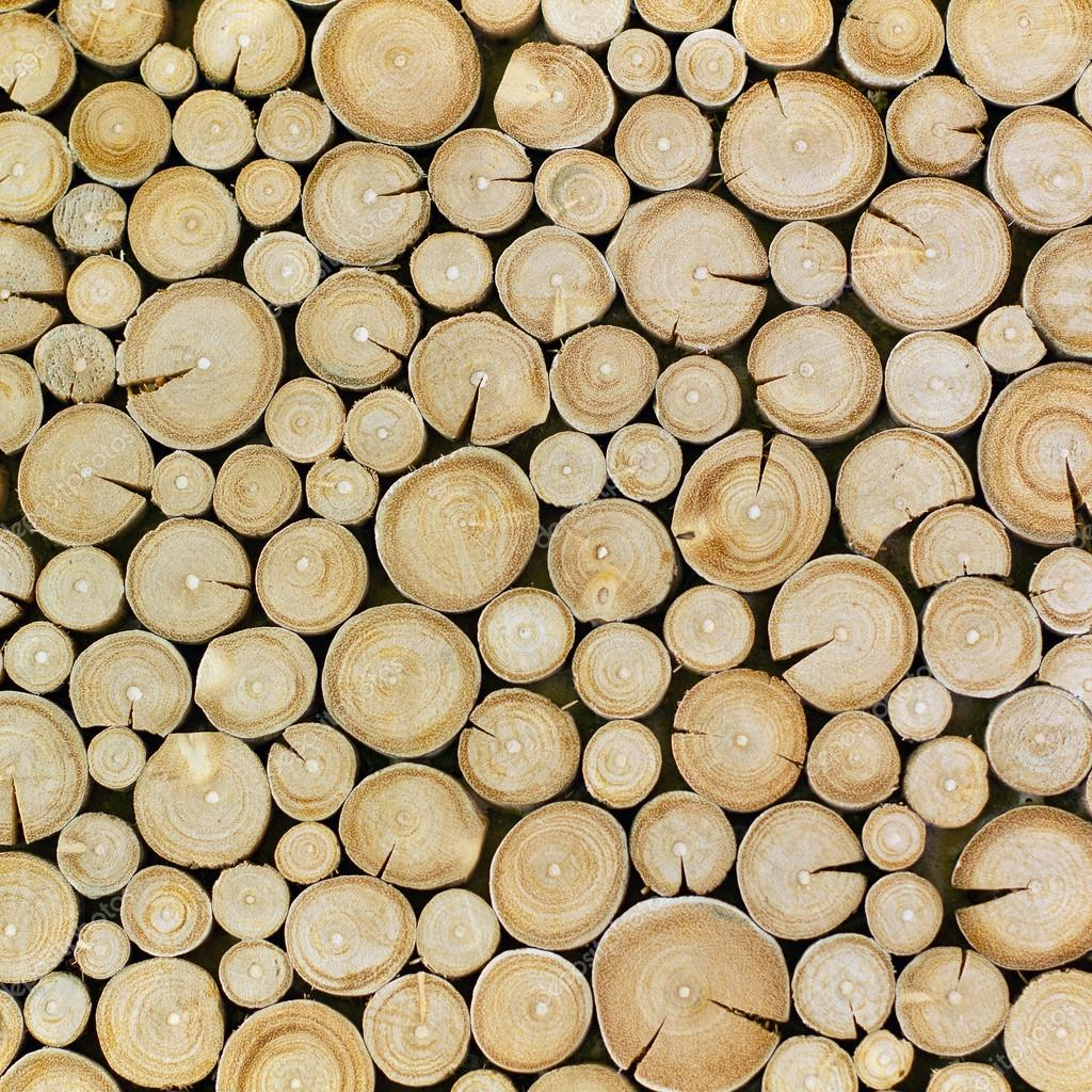 wood logs texture background