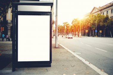 Blank billboard with copy space