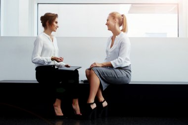 managing director interviewing a new worker