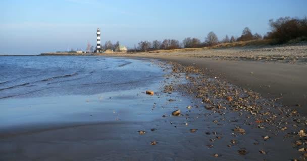 Sandstrand in der Ostsee, Riga Lettland