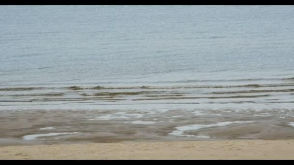 Sand beach in Baltic sea , Riga Latvia