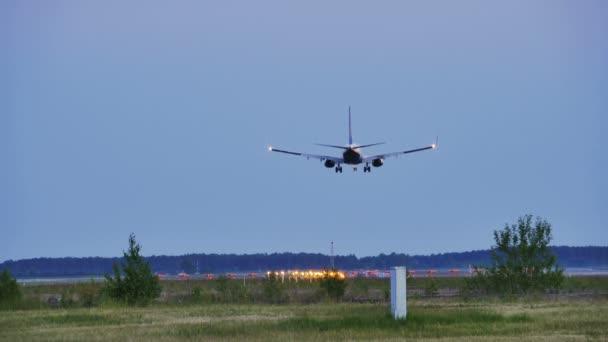 Večerní přistání pro cestující