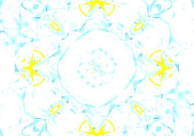 Kaleidoscopic pattern  texture