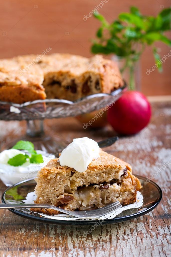 Dorset Apple Cake Stock Photo C Manyakotic 56405571