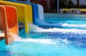 Aqua park slides