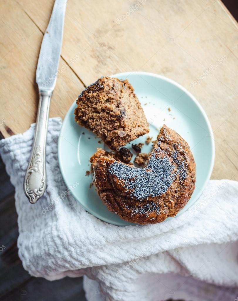 Greyfurtlu ve Haşhaş Tohumlu Kek