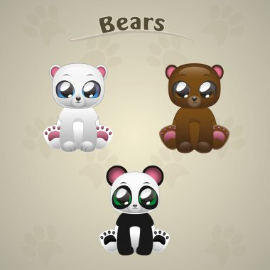 Cute Bears collection