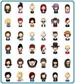 Lidé avatary super pack
