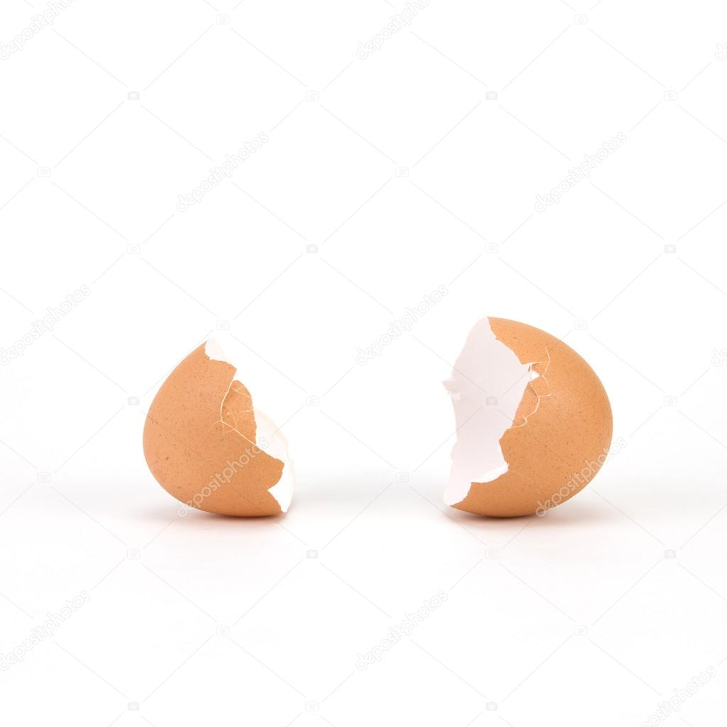 crack egg without getting shell