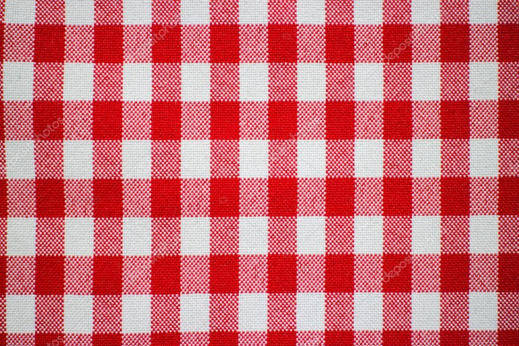 Attrayant Classic Red And White Checkered Tablecloth Textile U2014 Photo By Rayhuephoto