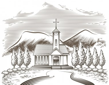 Church landscape