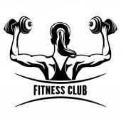 Fotografie Fitness Club Emblem