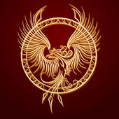 Fényképek Phoenix-jelkép a kör