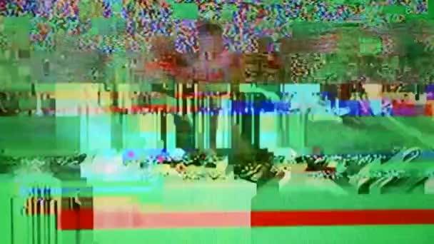 televízió-képernyőn