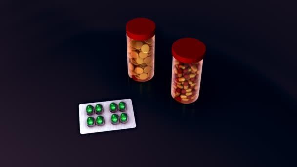 Acetaminophen, paracetamol pills