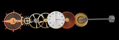 Mechanism of wrist watch