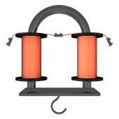 Electro Magnet-U-tvar