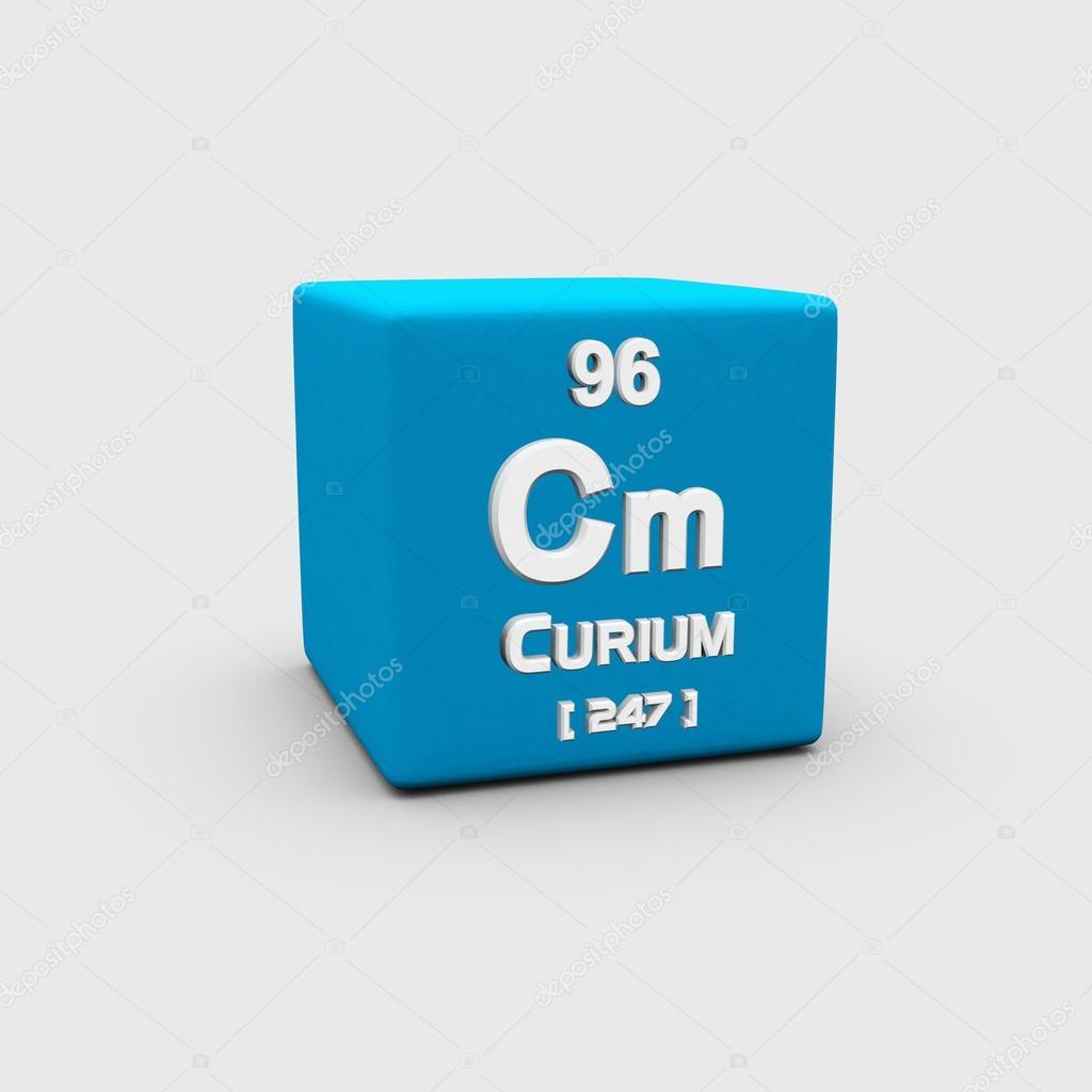 Curium Atomic Number Symbol Stock Photo Sciencepics 75755019