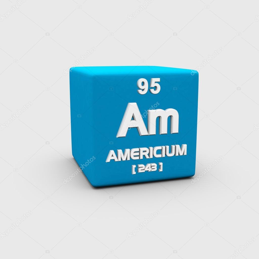 アメリシウム原子番号記号 — ス...