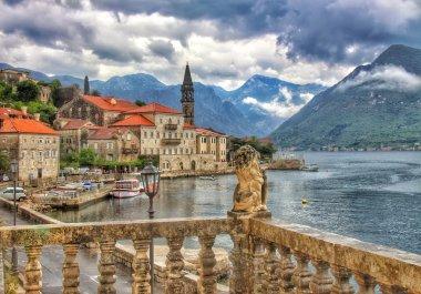 Perast town, Montenegro