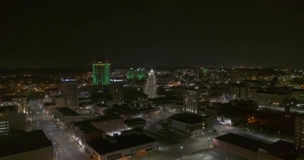 Montgomery Alabama Aerial v4 odhaluje záběr centra a předměstí v noci - DJI Inspire 2, X7, 6k - Březen 2020