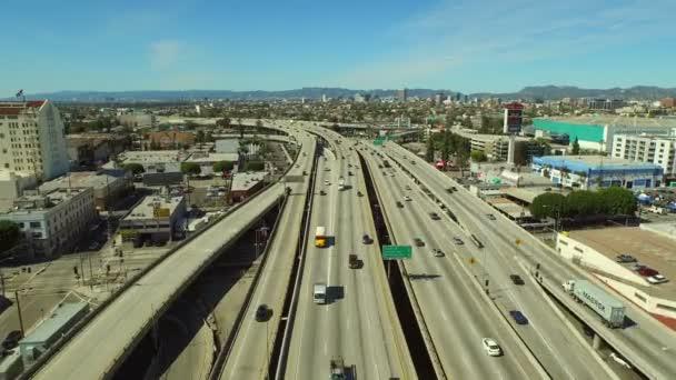 Výměnu dálnice v Los Angeles