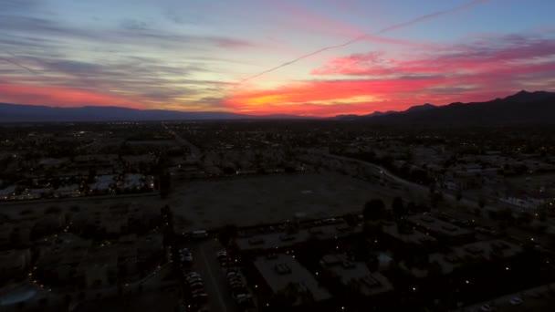 Palm Springs za svítání