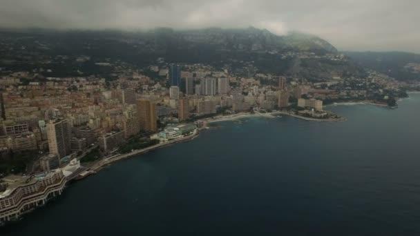 Aerial view on Monaco