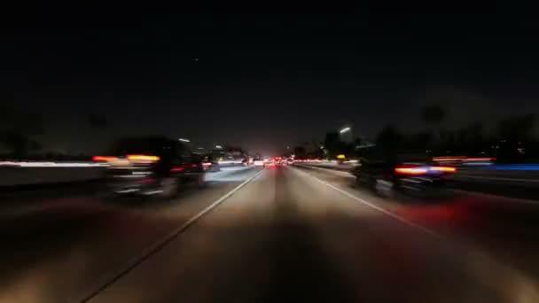 Jízda po centru v Los Angeles