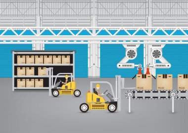 Production line vector