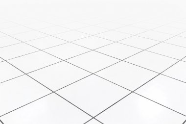 Raised floor white