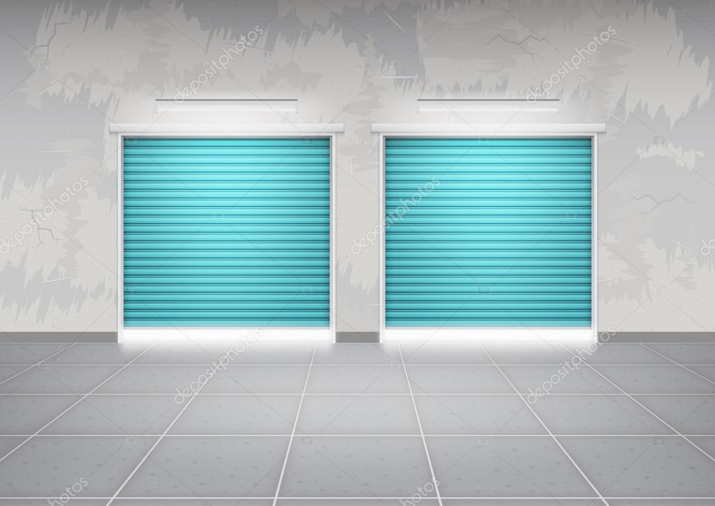 Vetor de porta do obturador vetor de stock roncivil - Piso porta 2000 ...
