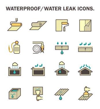 Waterproof water leak
