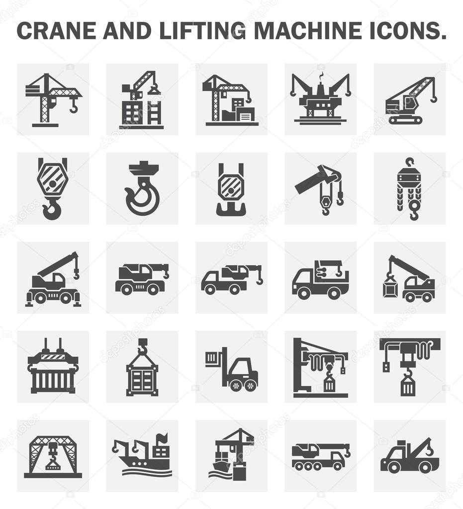 Crane icons