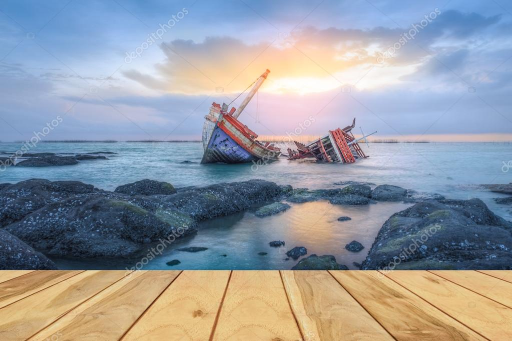 Shipwrecks and wood