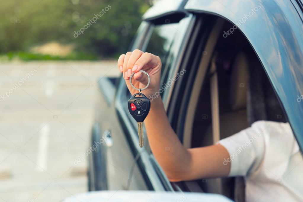 Car key hand