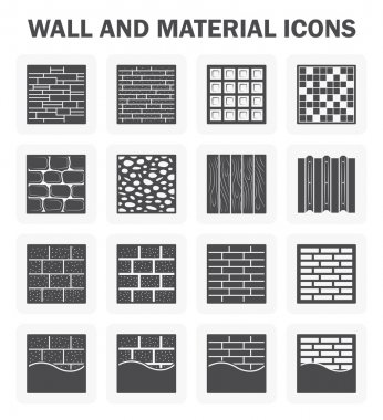 Wall icon sets