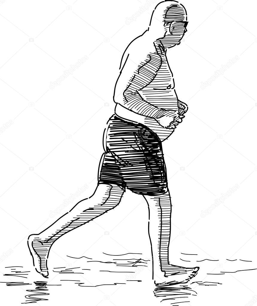 Resultado de imagem para pessoa correndo perfil