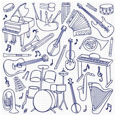 Doodle Music Instruments