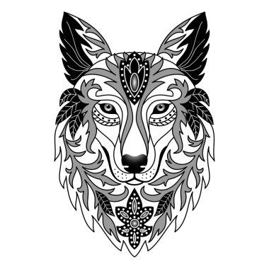 Ornamental Wolf
