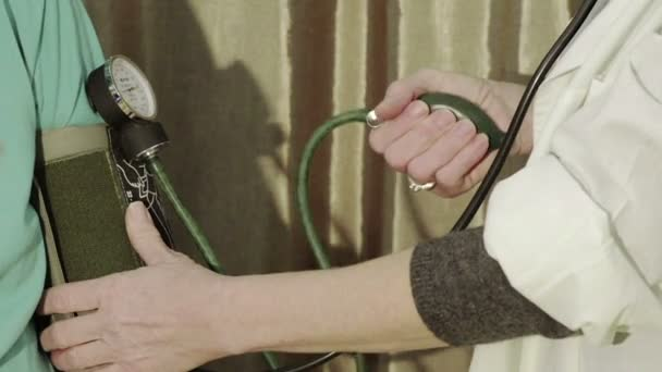 Close Up Blood Pressure Check