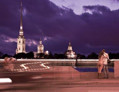 Evening St. Petersburg ,Russia
