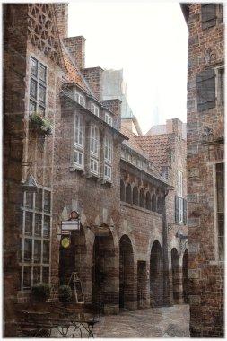 Vintage photo of Bremen