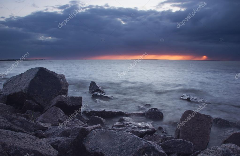 Gulf of Finland, Leningrad region, Russia
