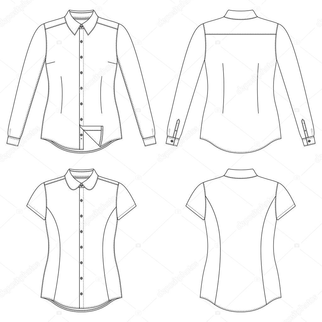 рисунок юбкой рубашка карандашом с
