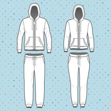 Hoodi and sweatpants set