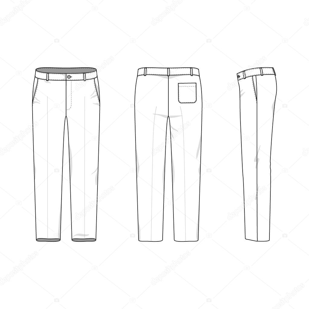 Pants outline