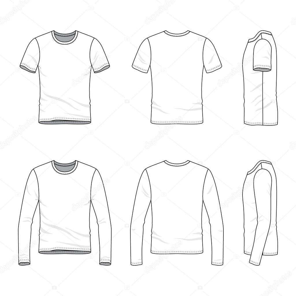 Shirt design outline
